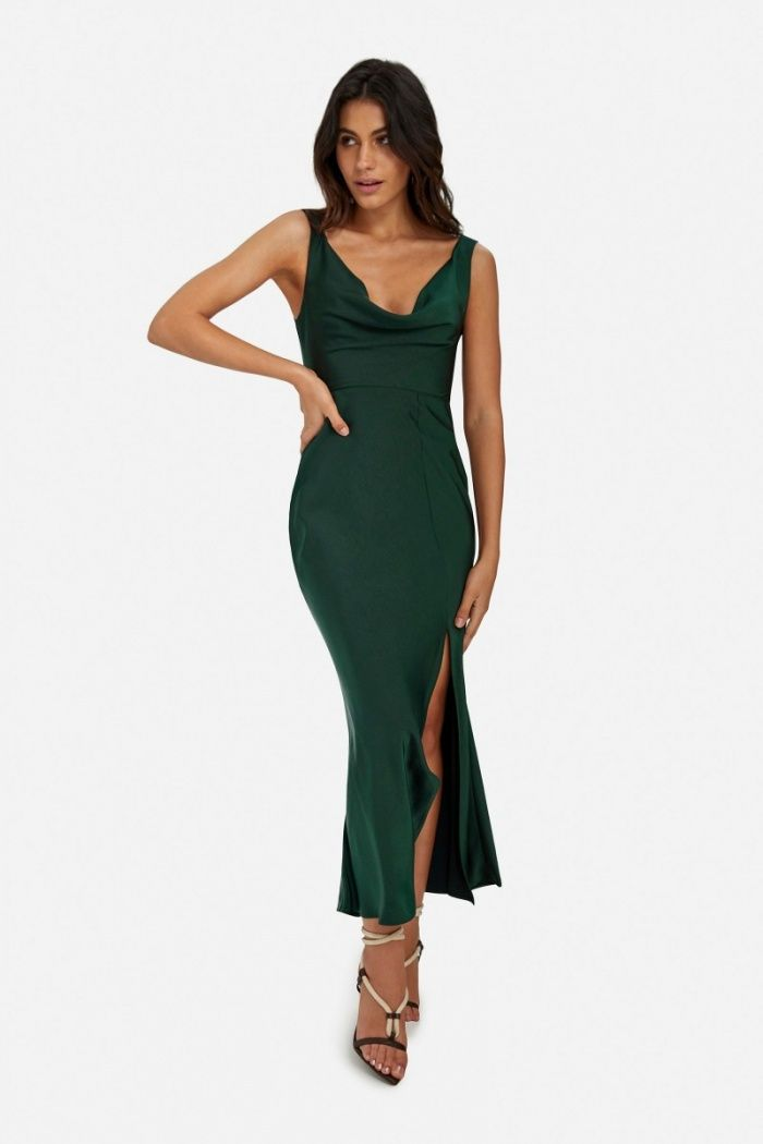 d51edfaafcd4 Macy Cowl Dress | Women's Clothing Online | SHEIKE | Wedding ...