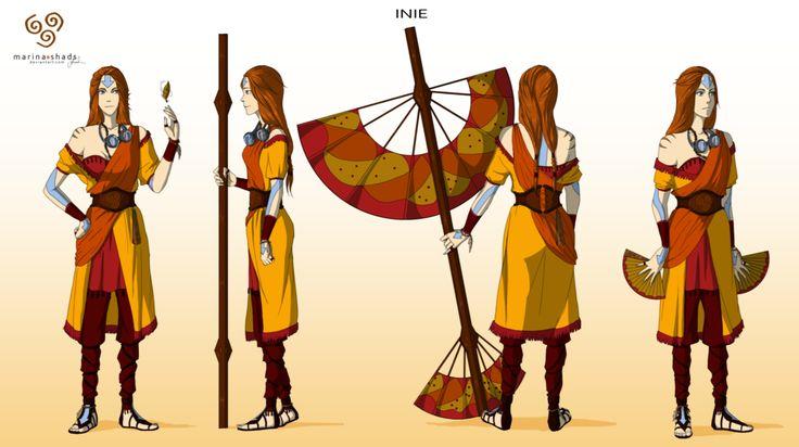 Inie -Avatar character concept design- by Marina-Shads.deviantart.com-----this rocks