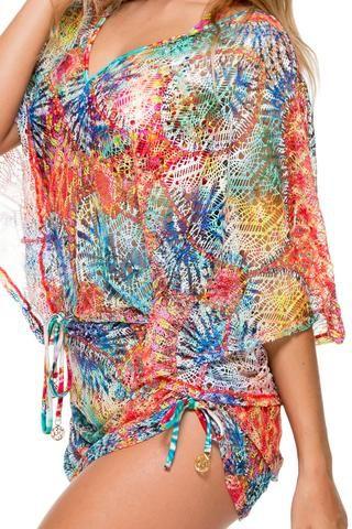 Luli Fama Cabana V-Neck Dress- Encantadora