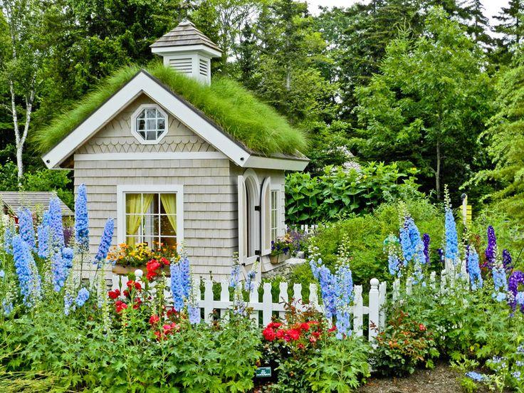 Childrens garden in Maine