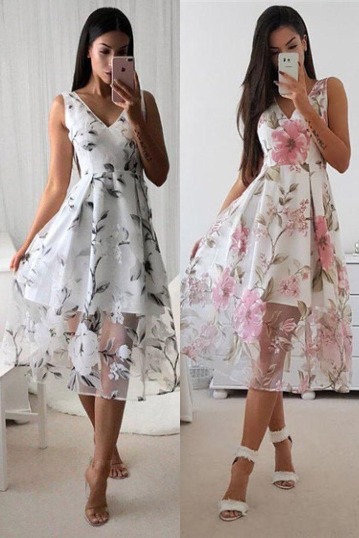 43ae564f5 Vestido Midi Rodado Festa de Tule em 2019 | Dress | Fashion dresses ...