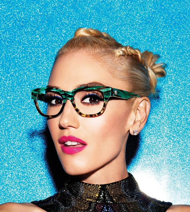 The ever-gorgeous Gwen Stefani in her new GX By Gwen Stefani frames.