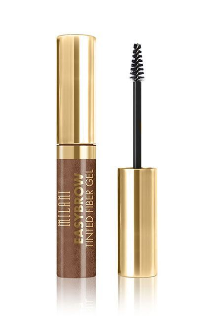 This Brow Gel Had A 10,000-Person Waiting List #refinery29  http://www.refinery29.com/glossier-best-selling-brow-gel#slide-4  The tapered brush on Milani's tinted brow gel makes it easy to precisely fill patchy zones.Milani Easybrow Tinted Fiber Gel, $7.99, available at Milani Cosmetics....