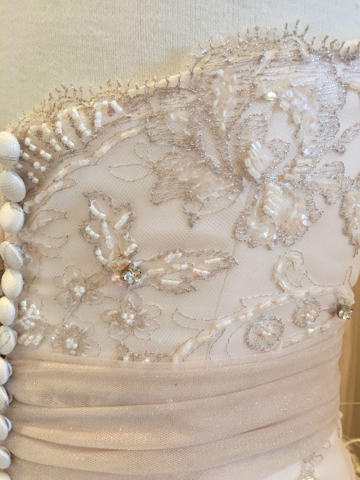 Beautiful detail ❤️ www.devarga.com.au  #wedding #weddingfashion #weddinggown #weddingdress #inspiration #weddinginspiration #bespoke #couture #elizabethdevarga #handmade #unique #Australia #australianwedding #AustralianDesigner #AustralianMade #Swarovski #magic