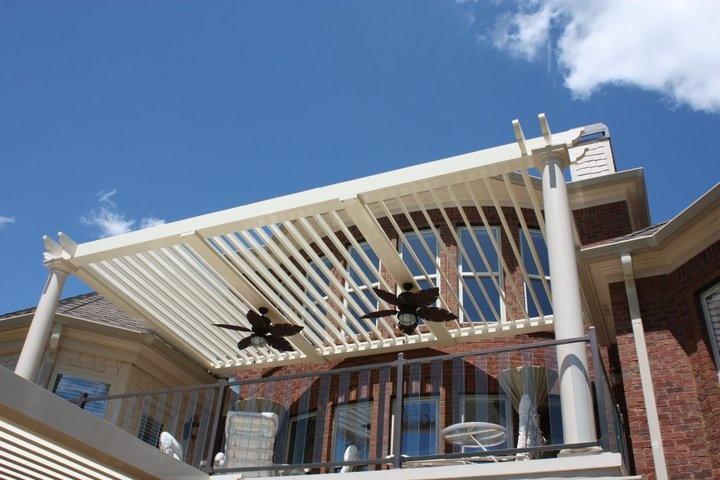 arcadia adjustable louvered roofs