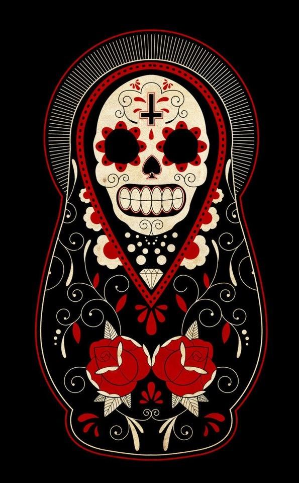 babushka skull