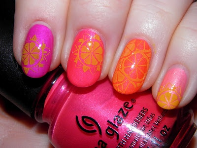 Vintage Musings Of A Modern Pinup: China Glaze Neon Skittles