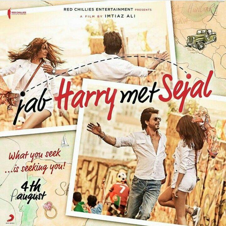 Jab Harry met Sejal movie featuring Shahruh Khan- coming August