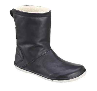 WANT! Vivobarefoot Becks Womens Leather Pull UP Barefoot Boots Black OR Brown ECO   eBay