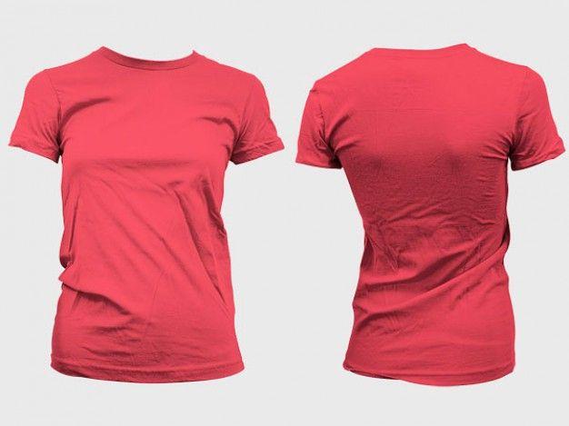 Female Shirt Template. blank t shirts template. woman tshirt ...