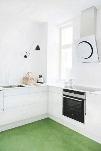 COCOCOZY: SMART DESIGN: A FRIENDLY COLORFUL KITCHEN FLOOR!
