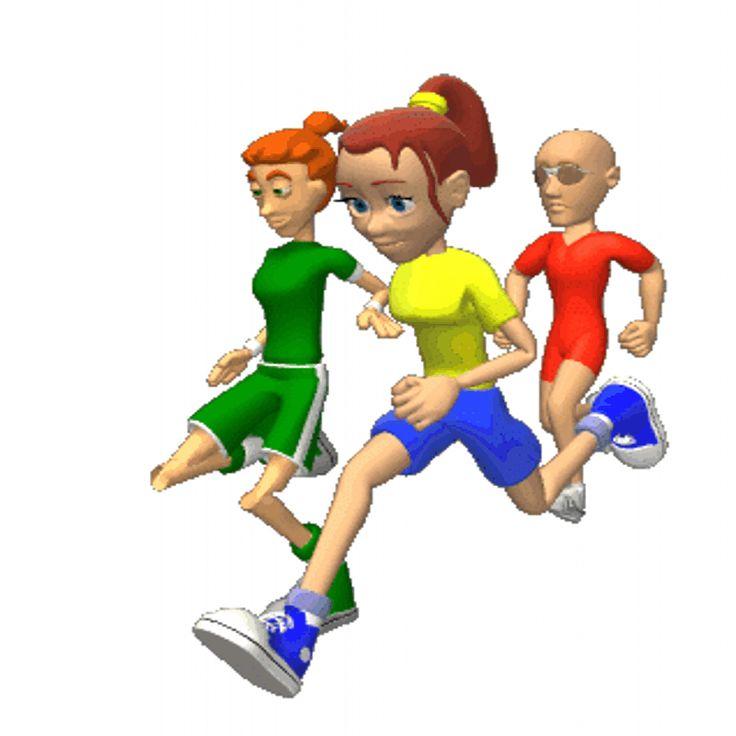 Для детей, картинки анимация спорт для детей