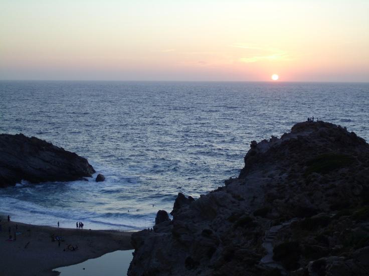 Sunset at Nas, Ikaria, Greece