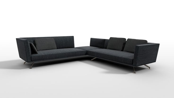 LEMA   NEIL by Francesco Rota, Salone del Mobile 2017. Refined and original, NEIL is a fresh new proposal with a strong appeal for those in search of more informal relaxation or the luxury of shared moments. This modular sofa is the perfect synthesis of made-to-measure comfort. It is distinguished by its low seat, its generous shape and squared back and arms which, slightly inclined outwards, enhance the feeling of comfort and well-being.