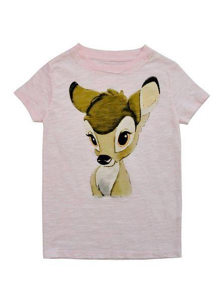 Relaunch Relaunch roze shirt met Bambi