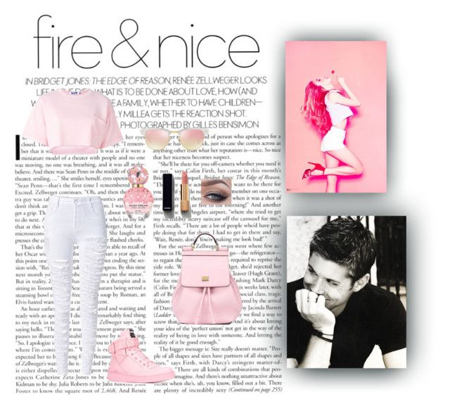 Fire & Nice by xo-nataliiee-xo on Polyvore featuring polyvore, fashion, style, Steve J & Yoni P, WithChic, Moschino, Dolce&Gabbana, Ray-Ban, Chanel, Marc Jacobs and clothing