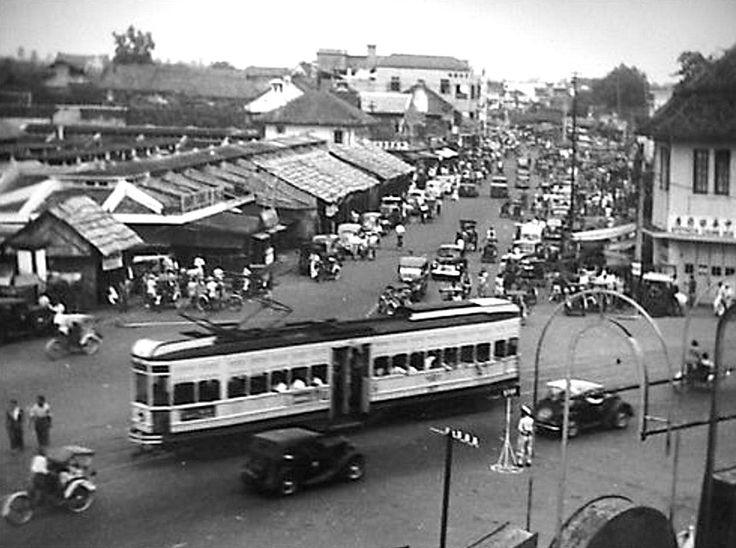 Glodok-wijk, ca. 1948.