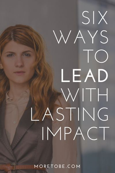 What does it take to lead with lasting impact? This resource will help you discover the beauty of leading from behind!