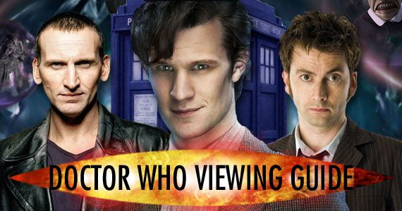 Want to watch 'Doctor Who' but don't know where to start? Here's our 'Doctor Who' Viewing Guide to help you with a complete episode list – including 'must watch' episodes.