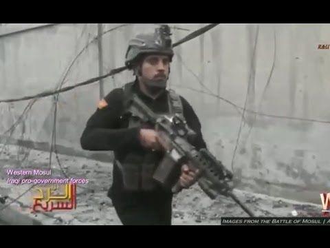 Guerra contra o ISIS no Iraque - Imagens da cidade de Mosul - Abril de 2017