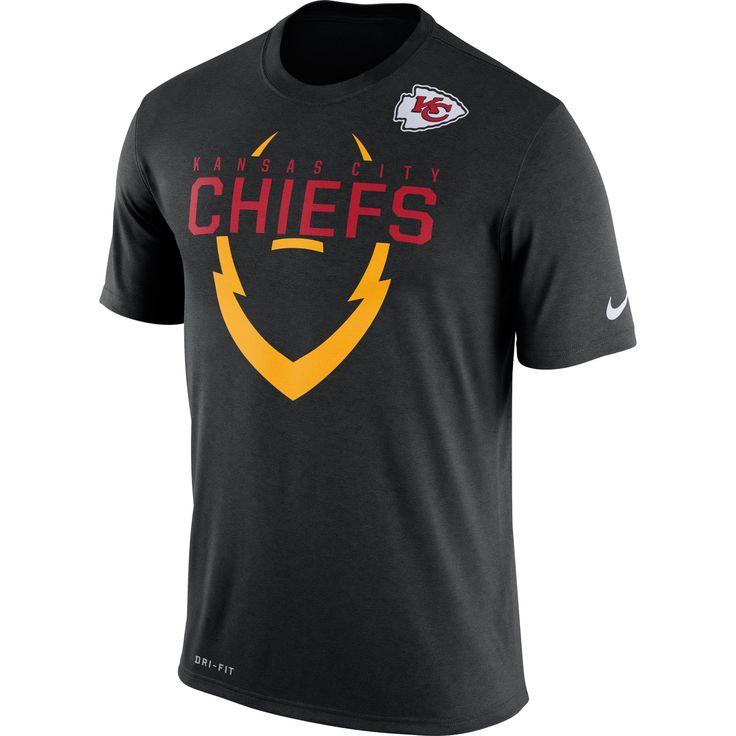 NFL Kansas City Chiefs Nike Legend Icon Dri-FIT T-Shirt - Black