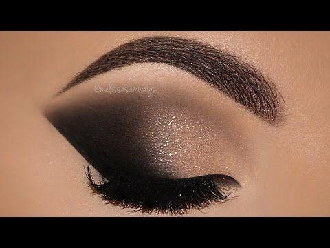 Maquiagem com Efeito Profissional - Makeup Tutorial Cut Crease - YouTube