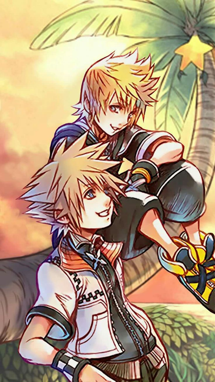 Roxana and sora switched clothes xD