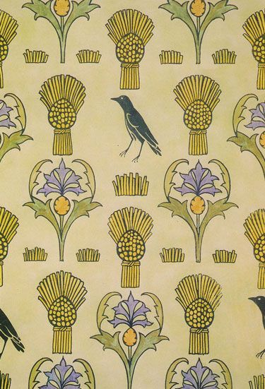 149 best Fabric - CFA Voysey images on Pinterest | Textile design ...