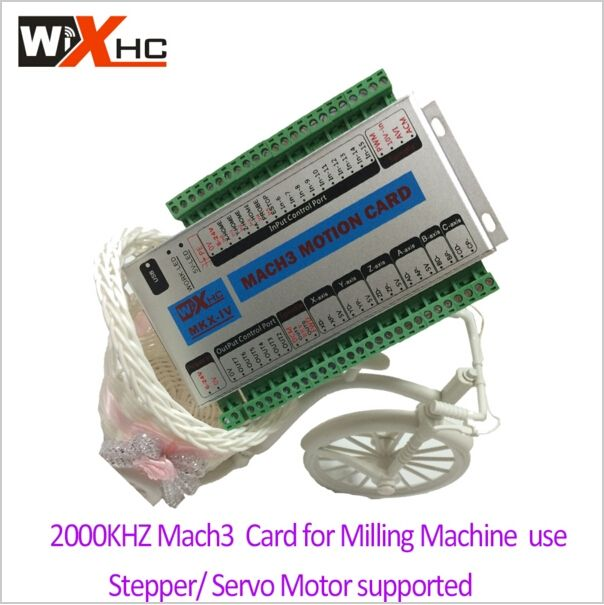 126.00$  Watch now - http://aligho.worldwells.pw/go.php?t=32766061919 - Mach3 usb cnc controller mach3 breakout board 3 axis usb cnc controller