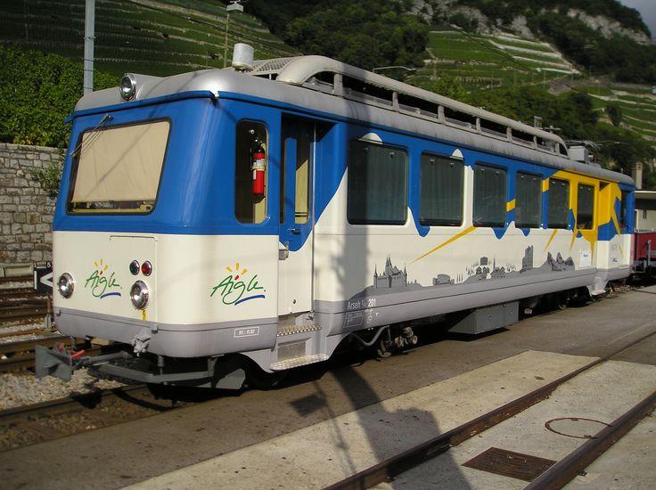 Chemin de fer Aigle - Leysin (AL) / Transports Publics du Chablais (TPC), Arseh 2/4 201, Aigle Dépôt AL (VS)