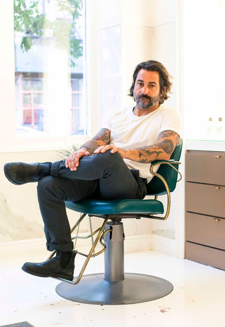 Blackstones' Joey Silvestera Talks His Hair Care Products: Why the cool kids get their hair cut by Blackstones' Joey Silvestera, the cool kids being Alexander Wang and Chloë Savigny | coveteur.com