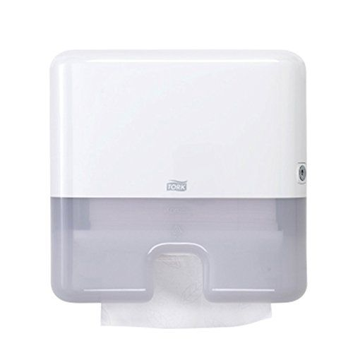 Tork 552120 Elevation Mini Xpress InterfoldMultifold Hand Towel Dispenser  White ** Want Additional Info?