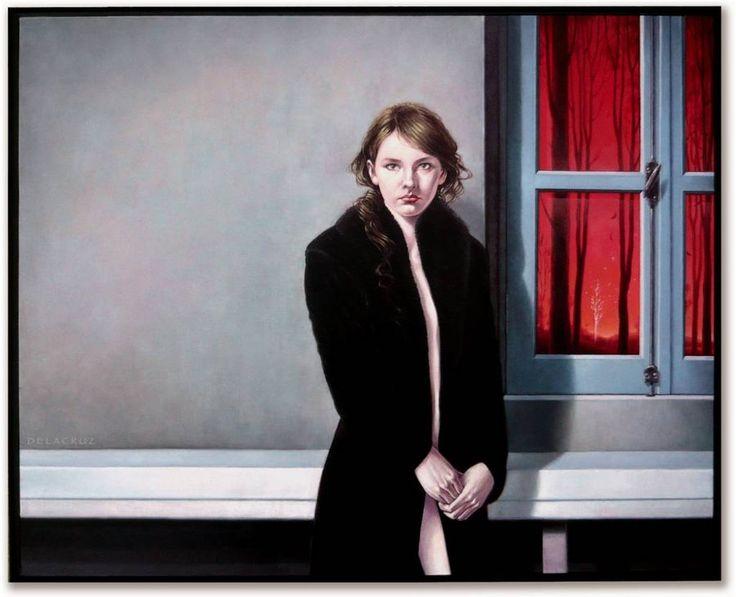 the girl of the black coat by delacruz-art on DeviantArt