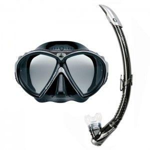 Dive Aqualung Set Favola + Zephyr Black - Planet Multi Store