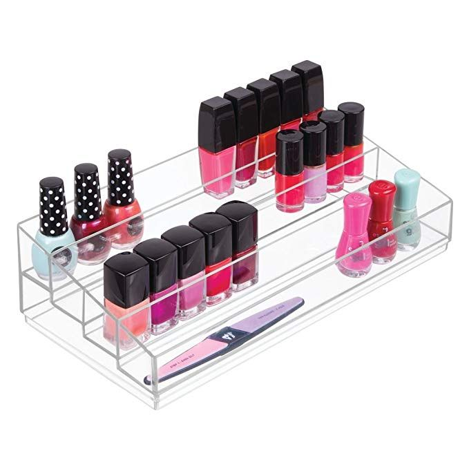 Interdesign Cosmetic Vanity Cabinet To Hold Makeup Beauty