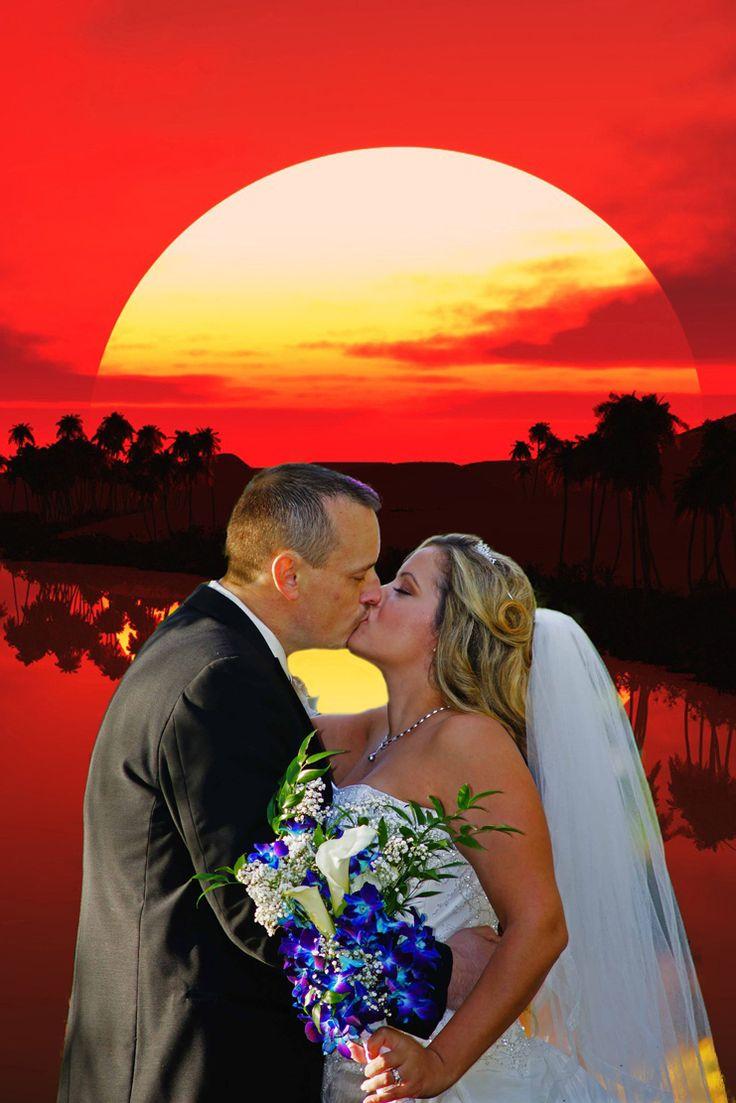 Wedding Sunset. www.rharrisphotos.com