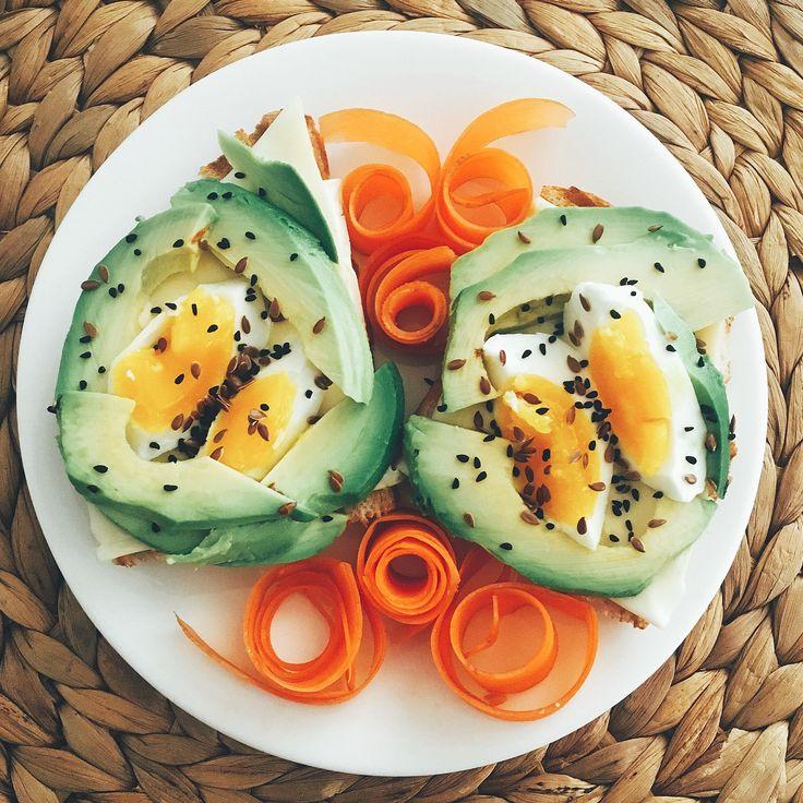 Kahvaltı fikirleri, avokado, avocado, eggs,