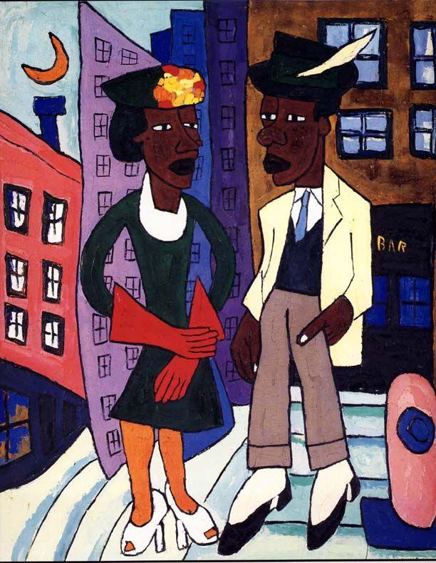 William H. Johnson  (1901 -1970) http://jackiewhiting.net/Art/Johnson/Johnson.htm