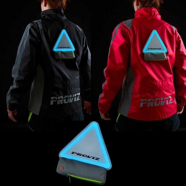 Proviz Nightrider Jacket & Triviz Lighting System Bundle: a brilliant combination of Proviz's Nightrider Jacket and their ingenious Triviz detachable, rechargeable lighting system. £80