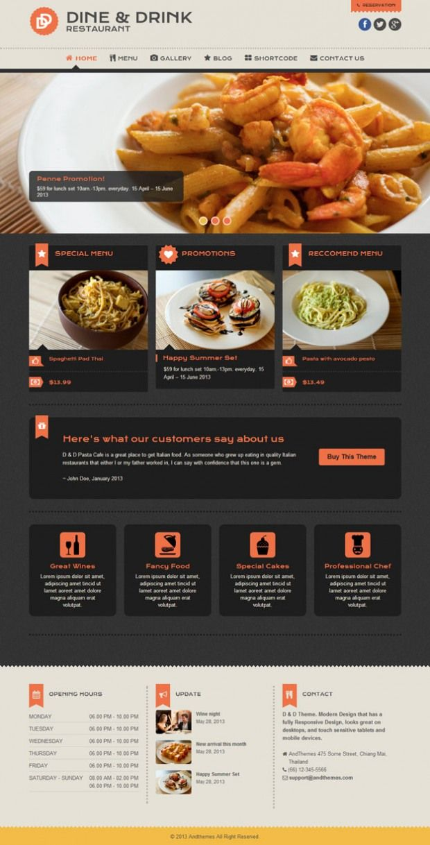 20 best Best Themes for Resturaunts/Cafes images on Pinterest ...