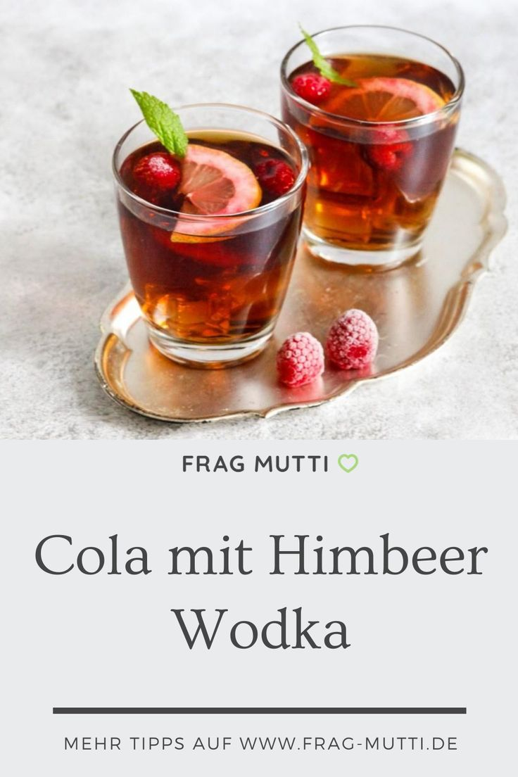 Wodka Cola Rezept