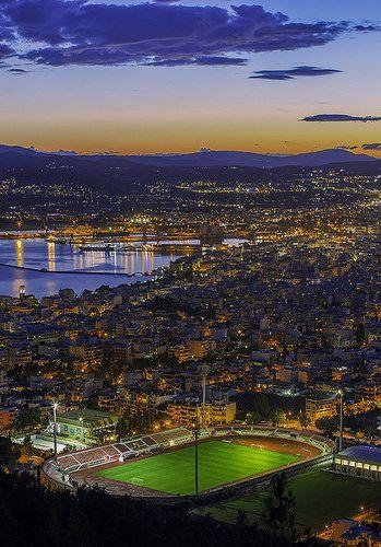 Volos - Ilias Varelas Photography httpbit.ly1ipUXEq #volos #greece #cityscape | by Shakira 71