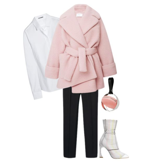 persephoni pink circle bag