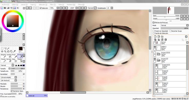 Girl's eye rough sketch. by lordofhalo333.deviantart.com on @deviantART