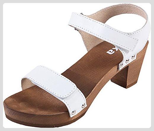 Bianco Low Wedge Sandal Beige, Schuhe, Absatzschuhe, Holzschuhe mit niedrigem Absatz, Beige, Braun, Female, 36