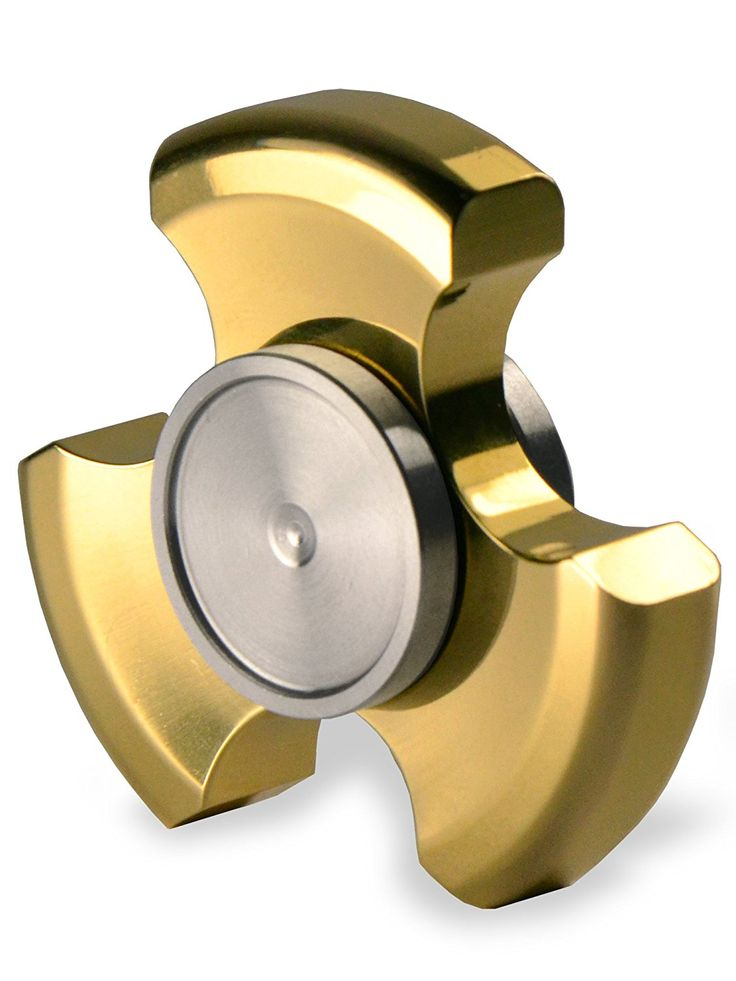 Amazon.com: Premium Tri Bar Metal Fidget Spinner by SpinnerPro - Best EDC Hand Spinner in its Class: Toys & Games