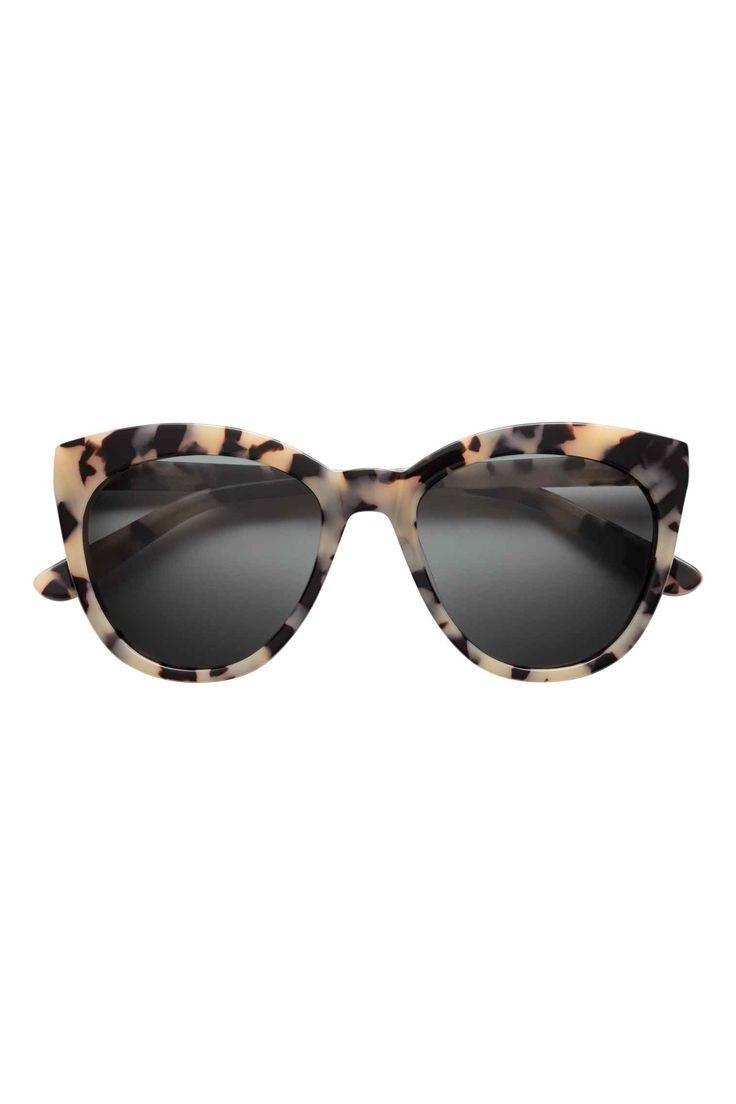 Polarised sunglasses - Beige/Patterned - Ladies   H&M GB