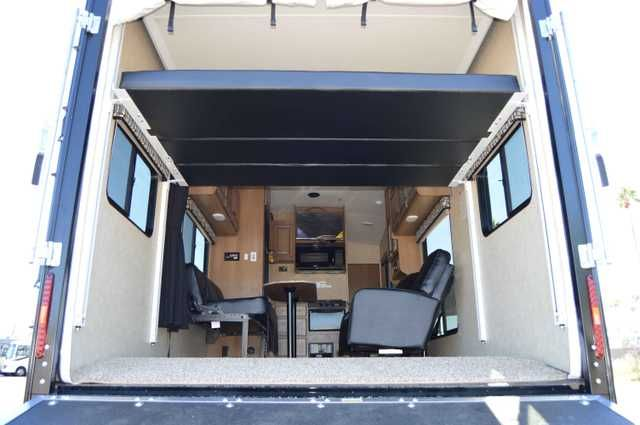 2016 New Cruiser STRYKER M-2812 Toy Hauler in Arizona AZ.Recreational Vehicle, rv, 2016 CRUISER STRYKER M-2812, 2015 Stryker ST-2812 toy hauler travel trailer by Cruiser RV hauling your very favorite toys. The 5,000 lb. tie downs will keep your precious cargo secure, and once parked you will enjoy all the amenities you need to take your fun up a notch or two all weekend long! The rear ramp door makes loading and unloading a cinch. With the fold up sofa tucked away and the swivel rockers…