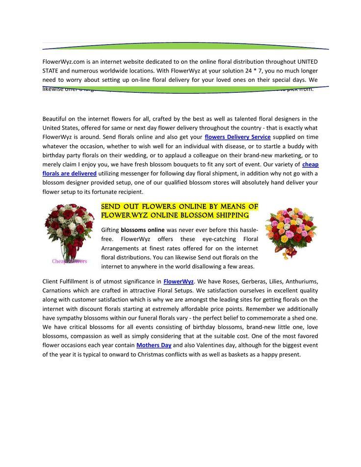 http://www.flowerwyz.com/ online flower delivery