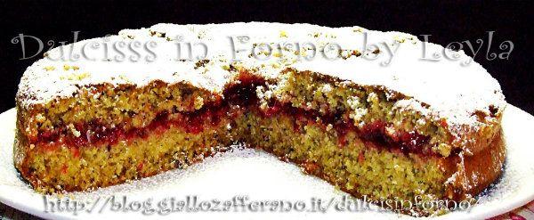 Trentino Alto Adige-Torta di grano saraceno e mirtilli rossi
